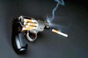 Револьвер, заряженный сигаретами