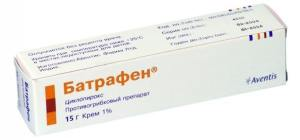 Мазь Батрафен