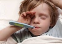 У ребенка может возникнуть жар из-за баланопостита