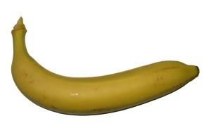 Этот банан может слегка напоминать своим внешним видом о фимозе