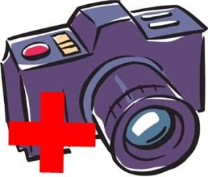 Нарисованный фотоаппарат