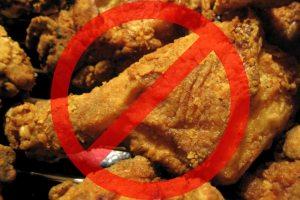 Отсрая, жирная и жареная пища противопоказана при сперматорее