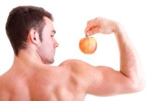 Весенние питание мужчины