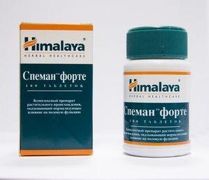 Препарат спеман для улучшения качества спермы
