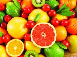 Витаминные продукты (витамины группы B полезны при гепатитах)