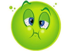 Тошнота при хроническом гепатите — один из симптомов.