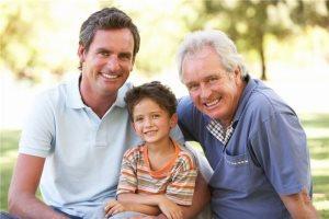 Сын, отец и дед