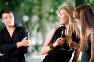 Поведение во время знакомства