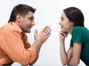 Невербальное общение до прямого контакта